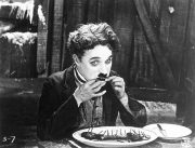 Charlie Chaplin, still from The Gold Rush (1925, 85mins); courtesy of the BFI, London