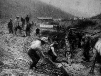 Washing Gold on 20 Above Hunker, Klondike (1901